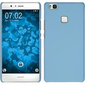 Hardcase for Huawei P9 Lite rubberized light blue