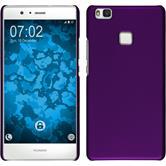 Hardcase for Huawei P9 Lite rubberized purple