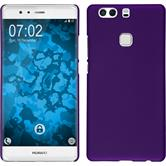 Hardcase for Huawei P9 Plus rubberized purple