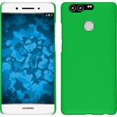 Hardcase for Huawei P9 rubberized green