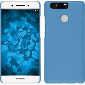 Hardcase for Huawei P9 rubberized light blue