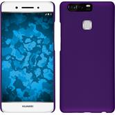 Hardcase for Huawei P9 rubberized purple