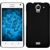 Hardcase for Huawei Y360 rubberized black