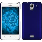 Hardcase for Huawei Y360 rubberized blue