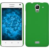 Hardcase for Huawei Y360 rubberized green
