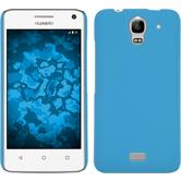 Hardcase for Huawei Y360 rubberized light blue