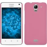 Hardcase for Huawei Y360 rubberized pink