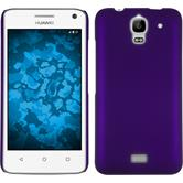 Hardcase for Huawei Y360 rubberized purple
