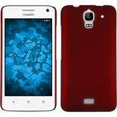 Hardcase for Huawei Y360 rubberized red