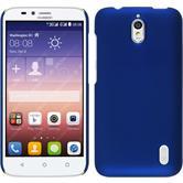 Hardcase for Huawei Y625 rubberized blue