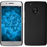 Hardcase Moto G5 Plus rubberized black