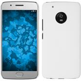 Hardcase Moto G5 Plus rubberized white
