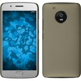Hardcase Moto G5 rubberized gold