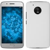 Hardcase Moto G5 rubberized white
