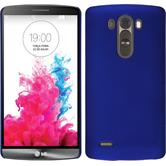 Hardcase for LG G3 rubberized blue