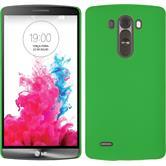 Hardcase for LG G3 rubberized green