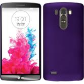 Hardcase for LG G3 rubberized purple