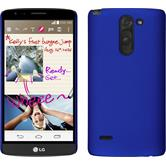 Hardcase for LG G3 Stylus rubberized blue