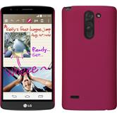 Hardcase for LG G3 Stylus rubberized hot pink