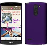 Hardcase for LG G3 Stylus rubberized purple