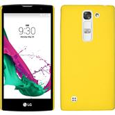 Hardcase for LG G4c rubberized yellow