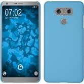 Hardcase G6 rubberized light blue