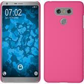 Hardcase G6 rubberized pink