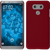 Hardcase G6 rubberized red