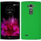 Hardcase for LG G Flex 2 rubberized green