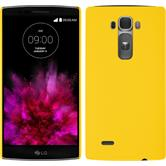 Hardcase for LG G Flex 2 rubberized yellow