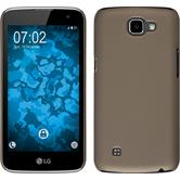 Hardcase for LG K4 rubberized gold