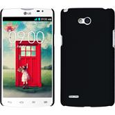 Hardcase for LG L80 Dual rubberized black