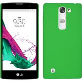 Hardcase for LG Magna rubberized green