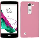 Hardcase for LG Magna rubberized pink