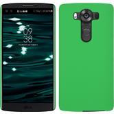 Hardcase for LG V10 rubberized green