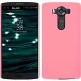 Hardcase for LG V10 rubberized pink