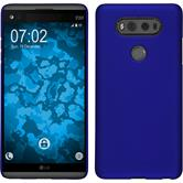 Hardcase for LG V20 rubberized blue