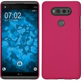 Hardcase for LG V20 rubberized hot pink