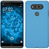 Hardcase for LG V20 rubberized light blue