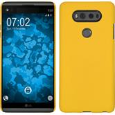 Hardcase for LG V20 rubberized yellow