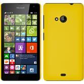 Hardcase for Microsoft Lumia 535 rubberized yellow