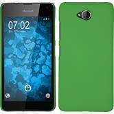 Hardcase for Microsoft Lumia 650 rubberized green