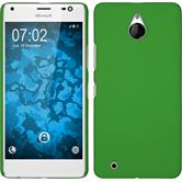Hardcase for Microsoft Lumia 850 rubberized green