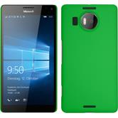 Hardcase for Microsoft Lumia 950 XL rubberized green