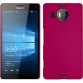 Hardcase for Microsoft Lumia 950 XL rubberized pink