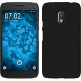 Hardcase for Motorola Moto G4 Play rubberized black
