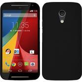 Hardcase for Motorola Moto G 2014 2. Generation rubberized black