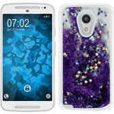 Hardcase for Motorola Moto G 2014 2. Generation Stardust purple