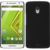 Hardcase for Motorola Moto X Play rubberized black