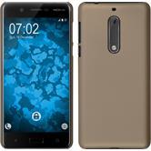 Hardcase for Nokia 5 rubberized gold